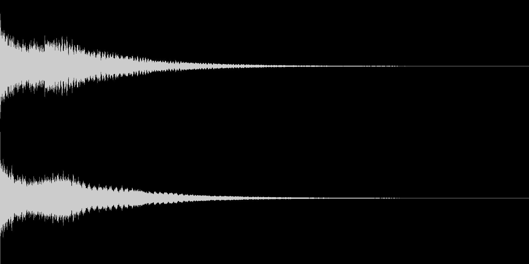 かわいい系 キラキラ系 光る音13の未再生の波形