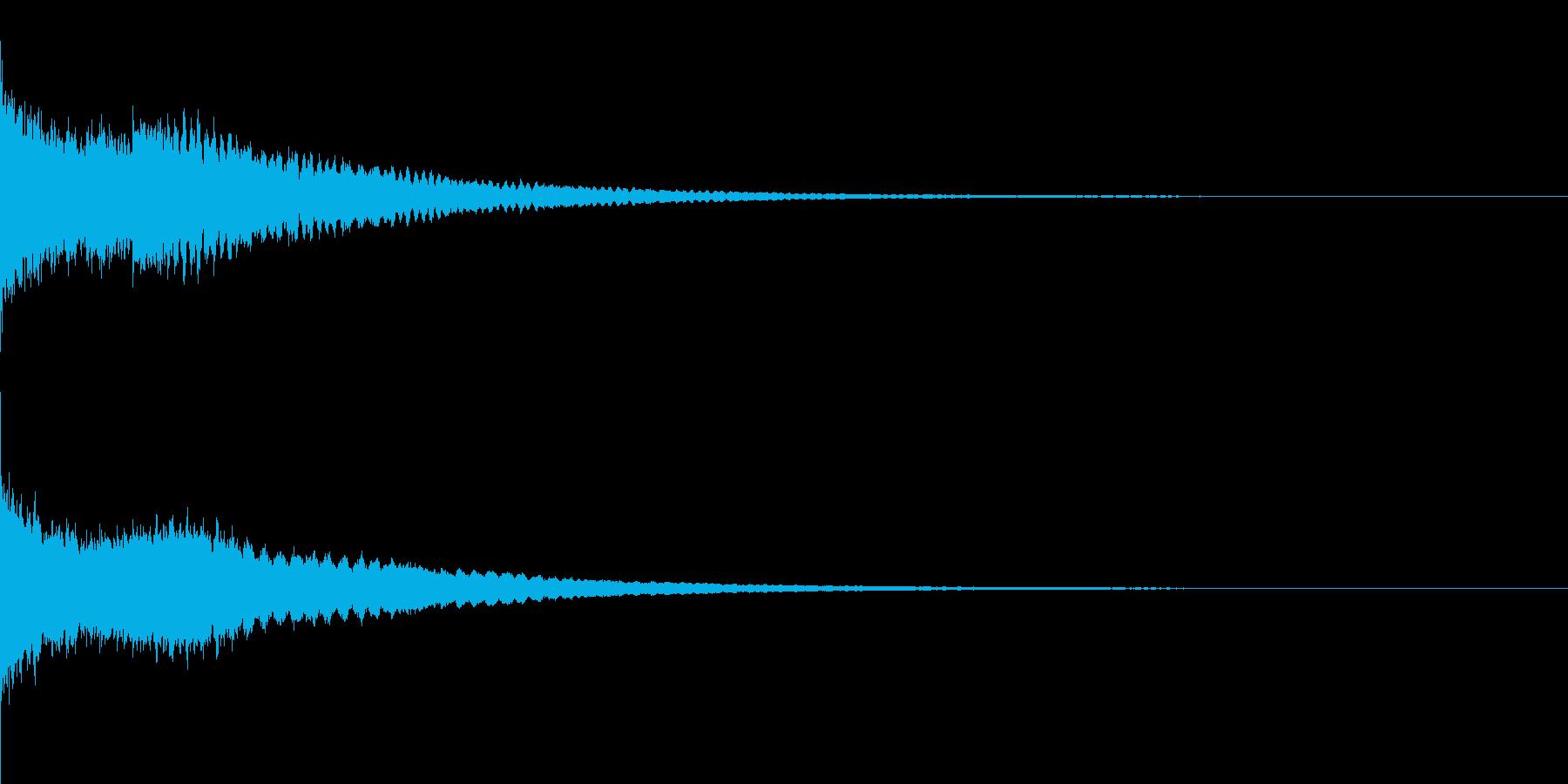かわいい系 キラキラ系 光る音13の再生済みの波形
