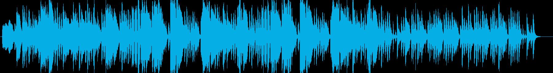 ラテン 情熱的・エロ・歌謡曲っぽいの再生済みの波形