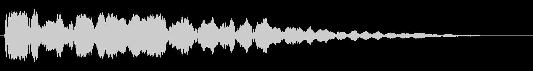 キーン (透明感のある響き)の未再生の波形