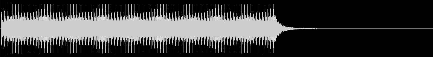 ジリリリ...。非常ベルB(低・長)の未再生の波形