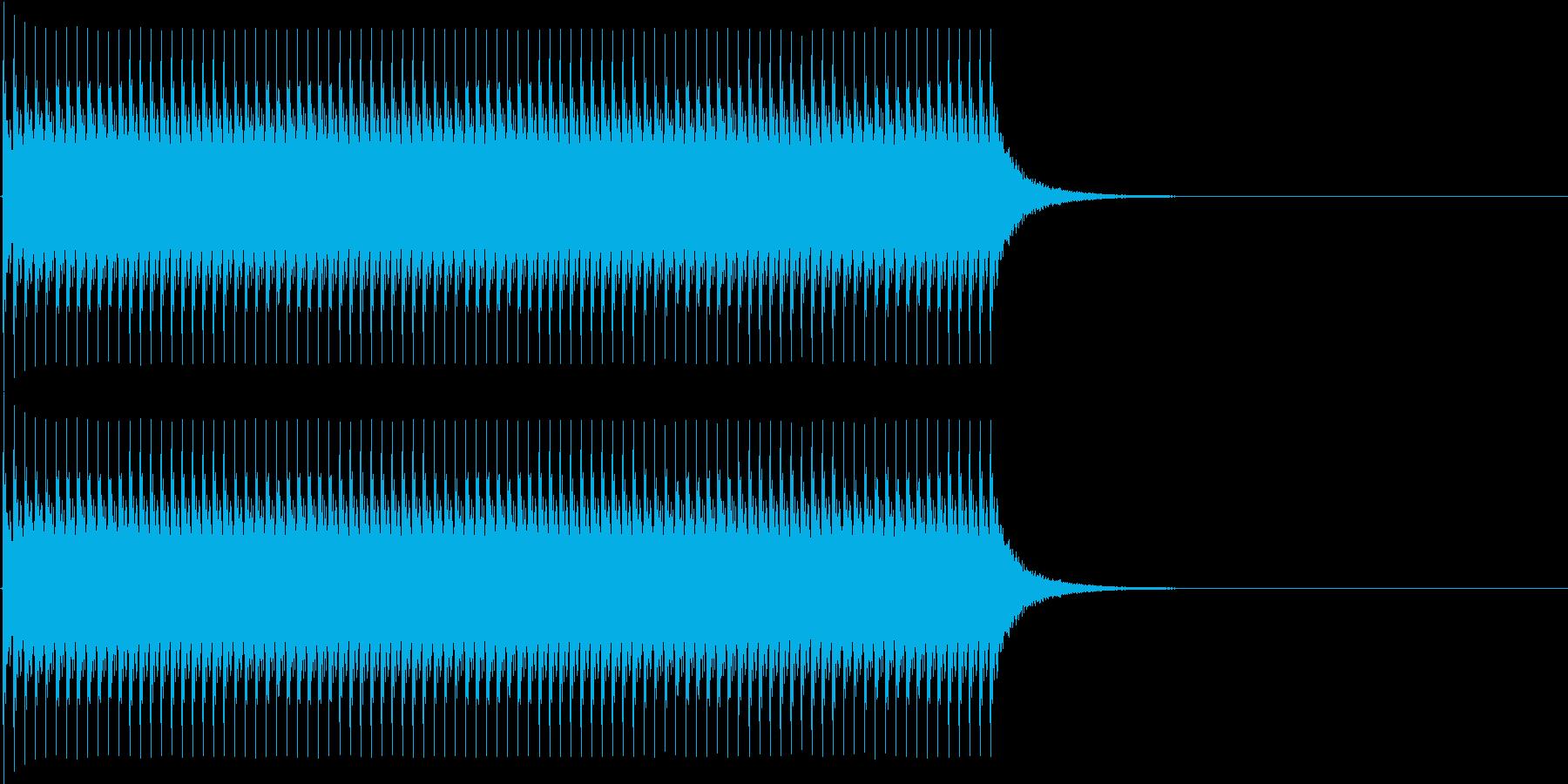 ジリリリ...。非常ベルB(低・長)の再生済みの波形