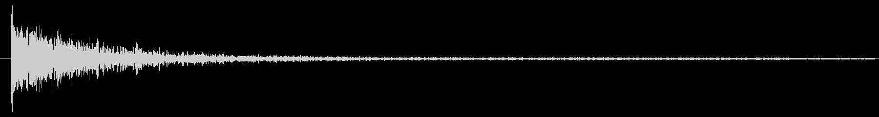パーカッション サブメタルインパク...の未再生の波形