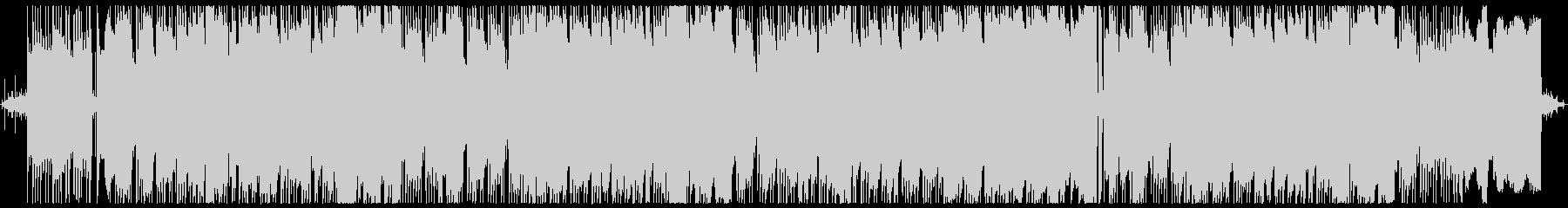 ノクターン第2番・ボサノバアレンジ1の未再生の波形