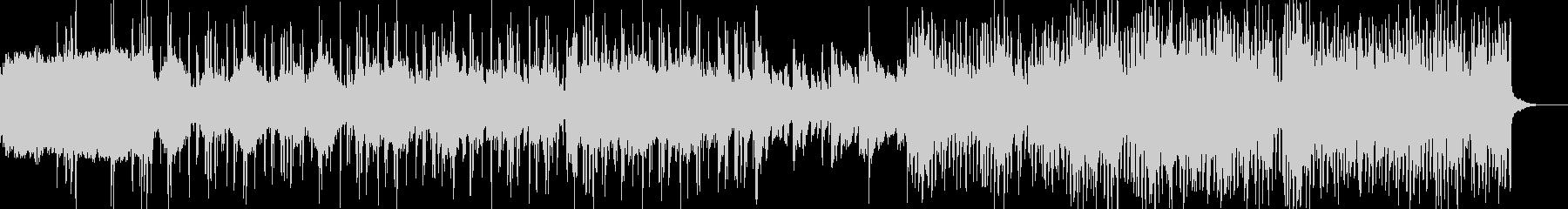 ダウンテンポ系BGMの未再生の波形
