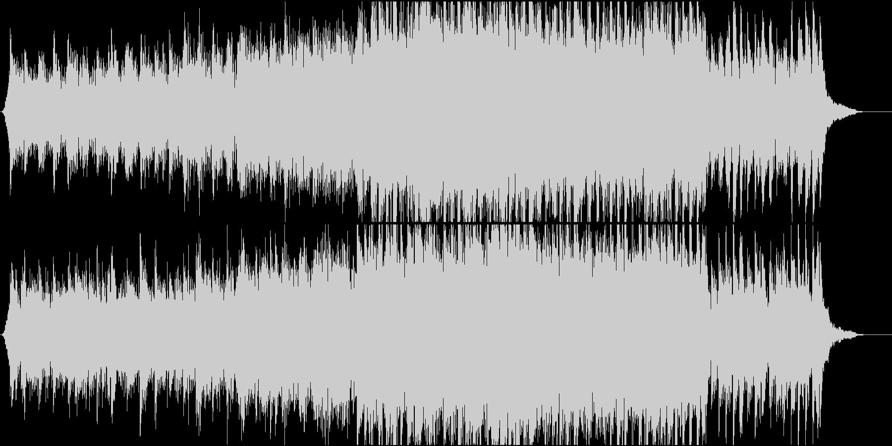 映像向け 爽やかなオーケストラの未再生の波形