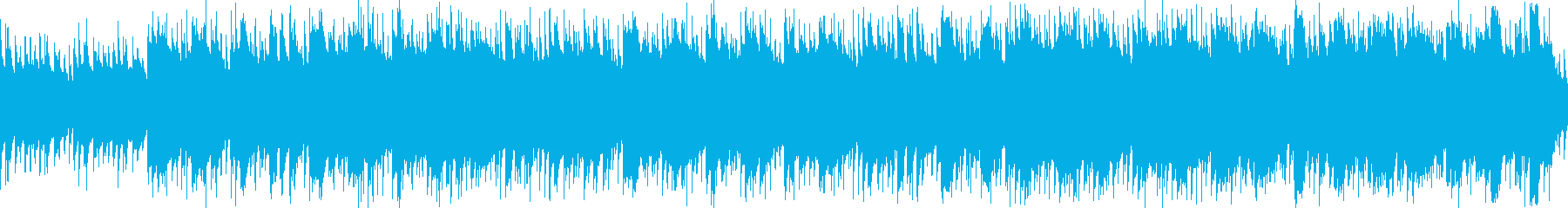 ほのぼの穏やかなアコースティック ループの再生済みの波形