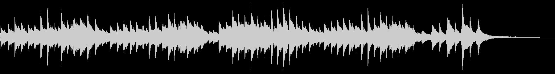 童謡「春の小川」シンプルなピアノソロの未再生の波形