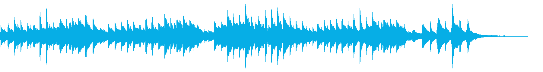童謡「春の小川」シンプルなピアノソロの再生済みの波形