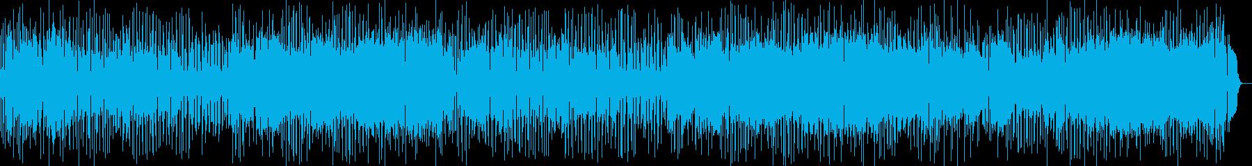 昭和アイドル風の明るく元気なポップス曲の再生済みの波形