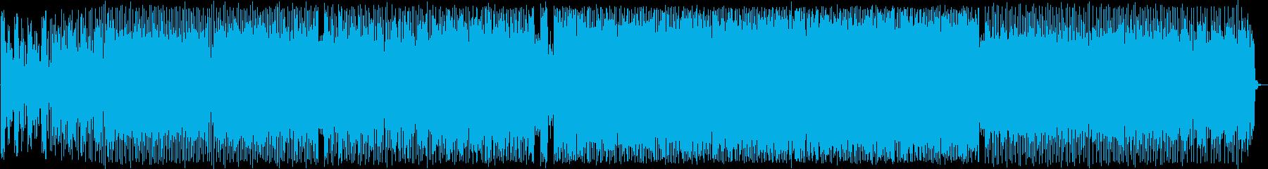 コミカルなシンセポップハウス系EDMの再生済みの波形