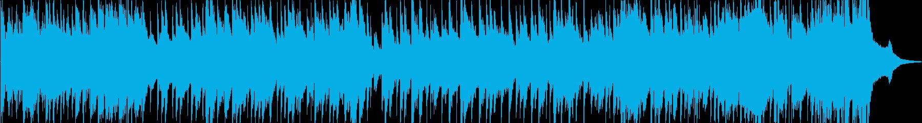 アルトサックスとギターが奏でるバラードの再生済みの波形