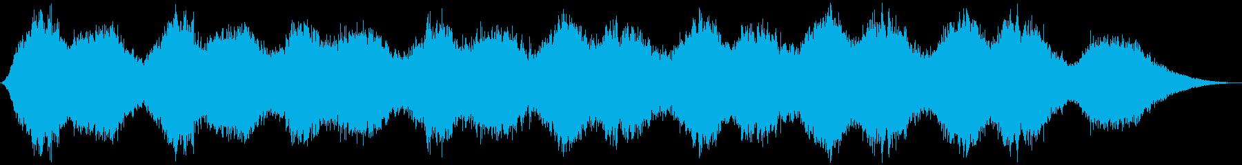 浮遊感のある不思議なアンビエントの再生済みの波形