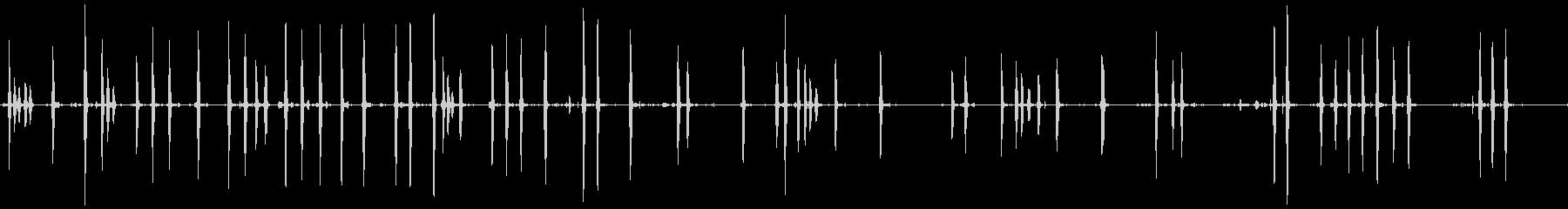ドッグバーキング6、動物; DIG...の未再生の波形