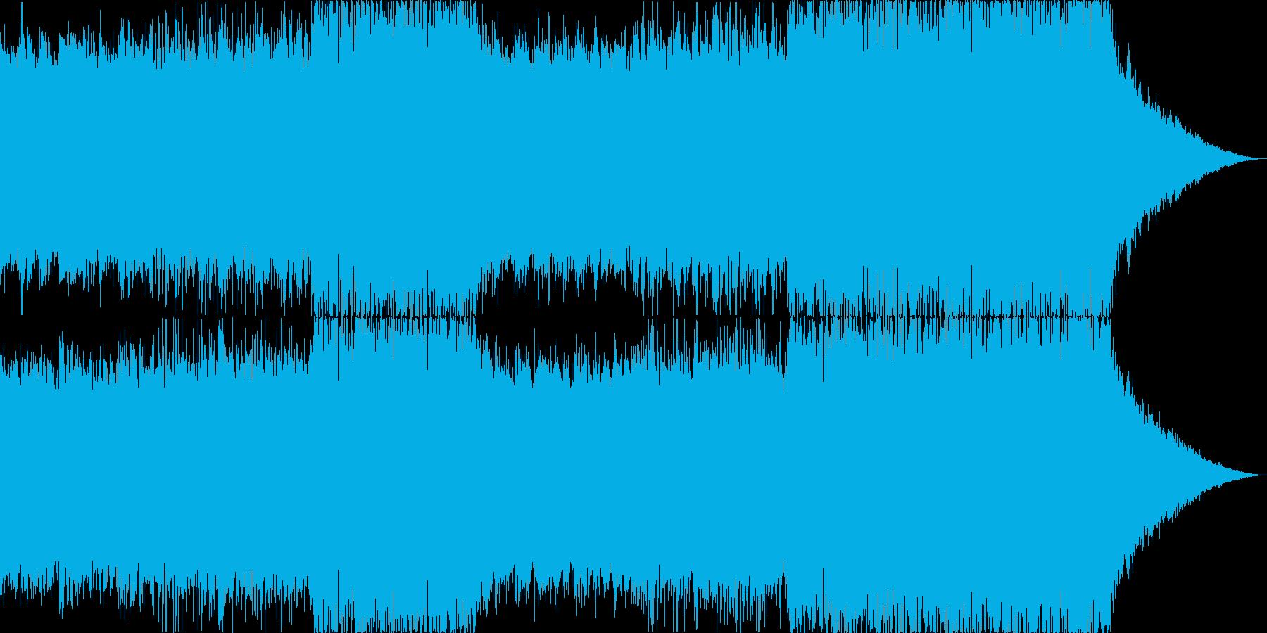 コーポレートBGM・爽やか・青・海・空の再生済みの波形