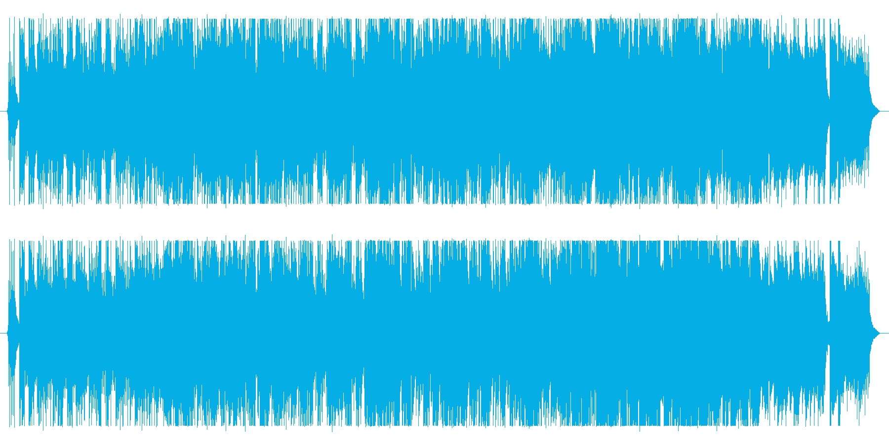 ショートサイズのロックサウンド。の再生済みの波形