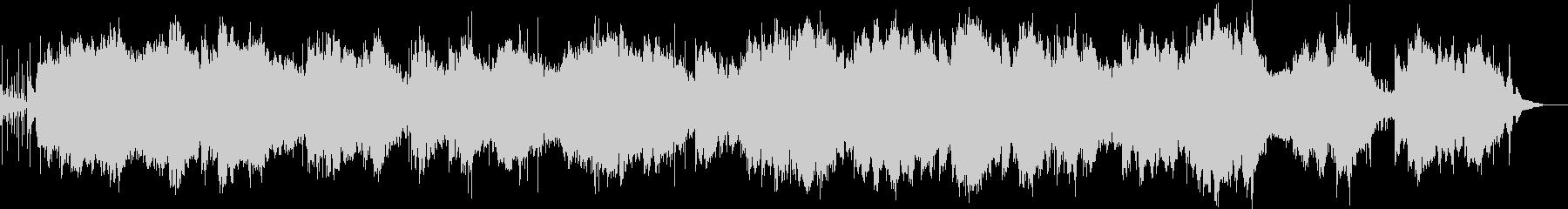 幻想的なヴォイスとベルの入り混じった曲の未再生の波形