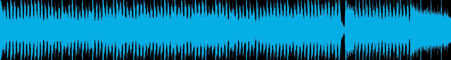 軽快なアコースティックギターポップスの再生済みの波形