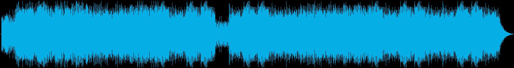ソロピアノ。アルペジオとメロディ。...の再生済みの波形