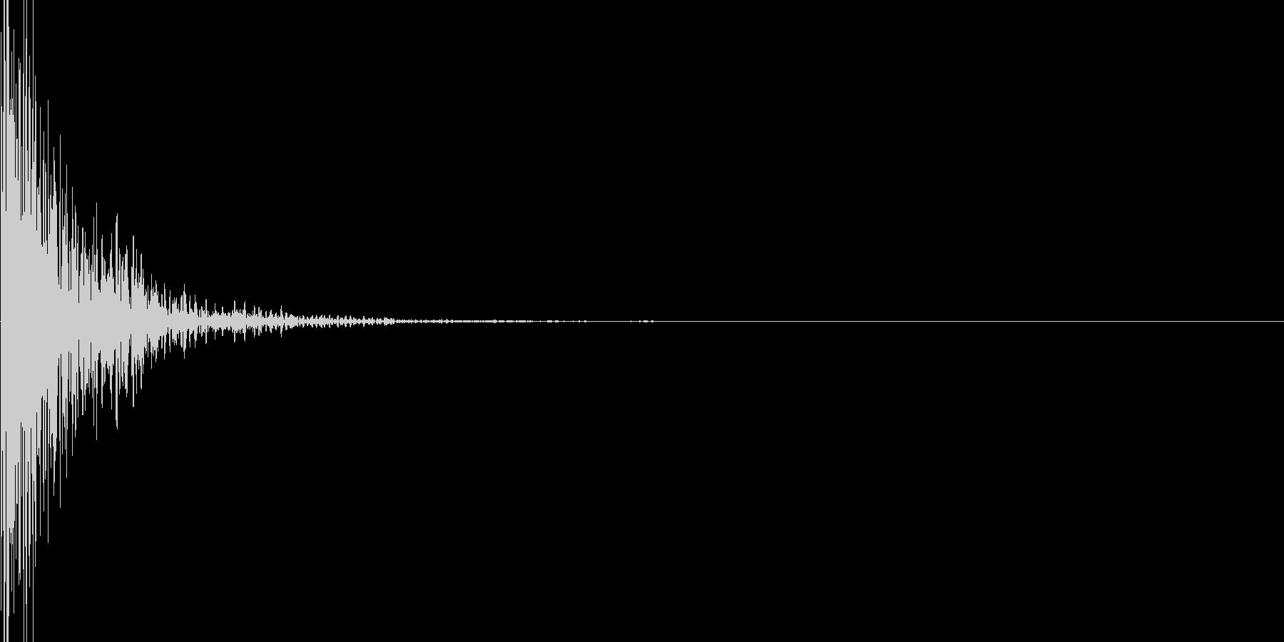 ハードナックルノックオンタブの未再生の波形