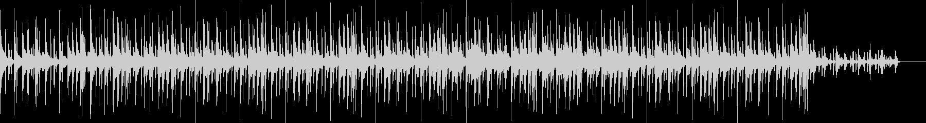 オシャレでファンクなヒップホップサウンドの未再生の波形