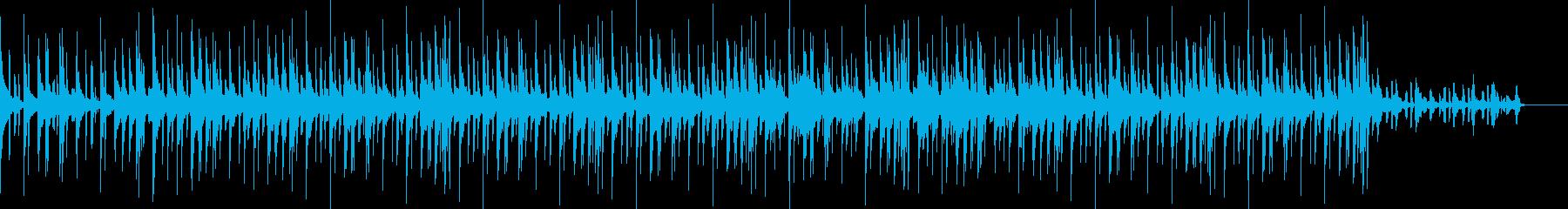 オシャレでファンクなヒップホップサウンドの再生済みの波形