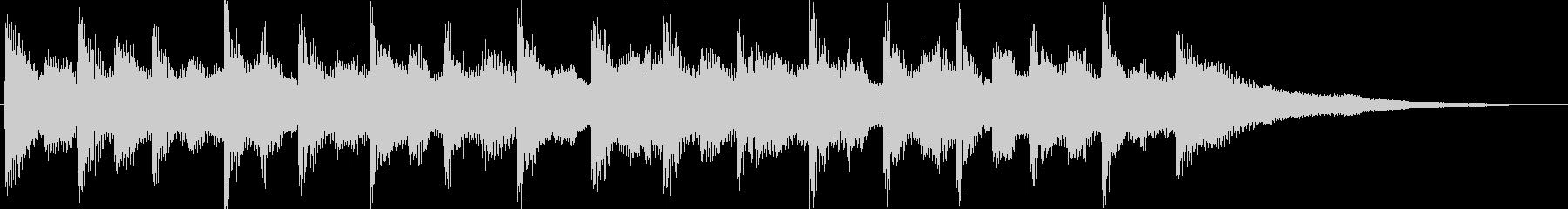 オルガンリードでキャッチ―なジングルの未再生の波形