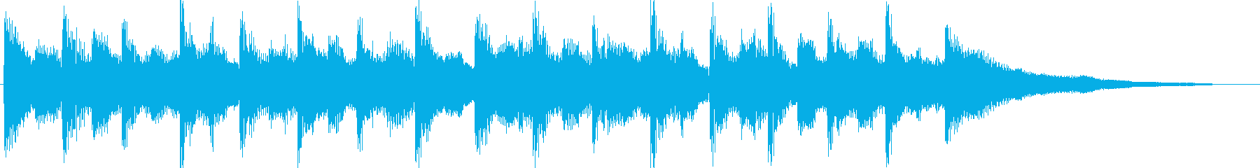 オルガンリードでキャッチ―なジングルの再生済みの波形