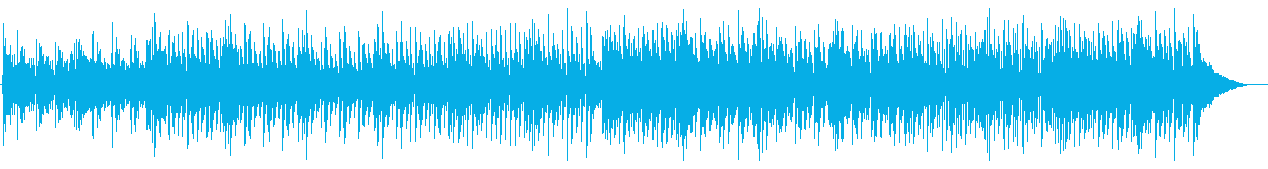 ニュースヘッドライン等にシンプル4つ打ちの再生済みの波形