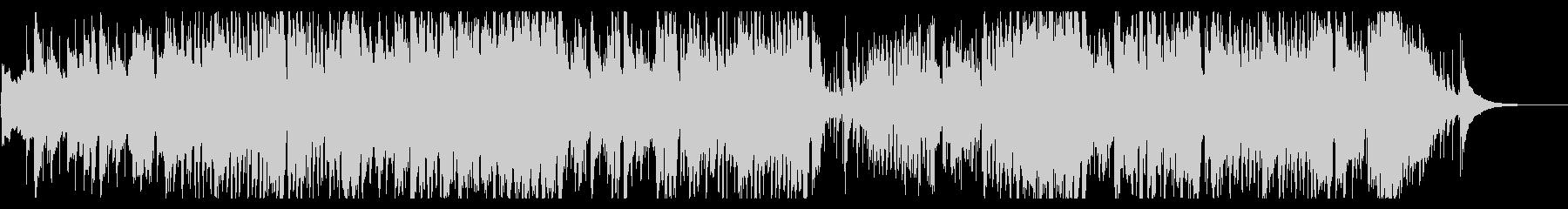 コンガ+トランペットのジャズテイスト曲の未再生の波形