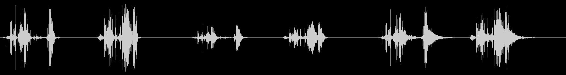 ウッドピックアップインサイド-2 ...の未再生の波形