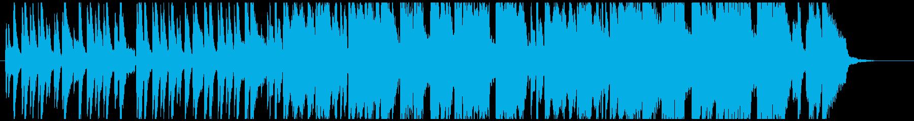 上質でおしゃれな ラウンジ向けのジャズの再生済みの波形