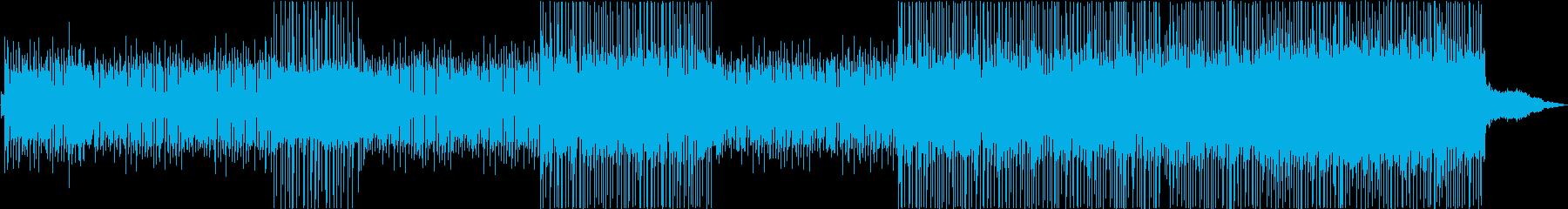 クラシックピアノのテーマの再生済みの波形