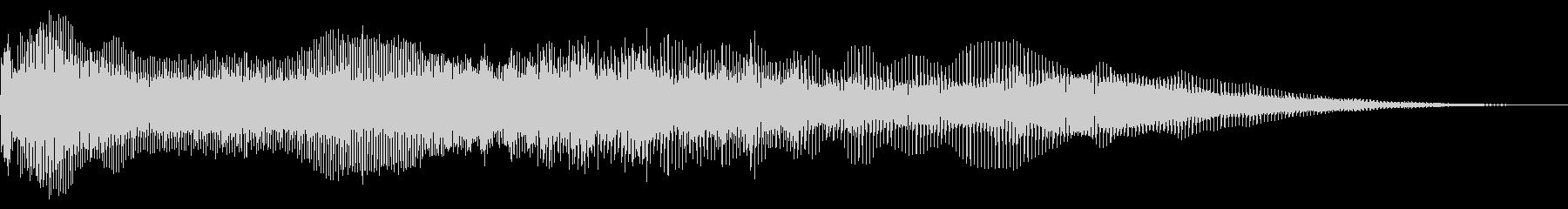 フルミックスバススイープの未再生の波形