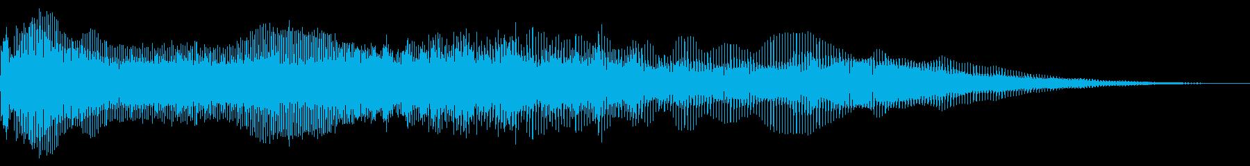 フルミックスバススイープの再生済みの波形