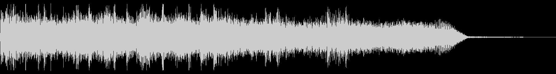 ハードロック・メタル系ジングル 場面転換の未再生の波形