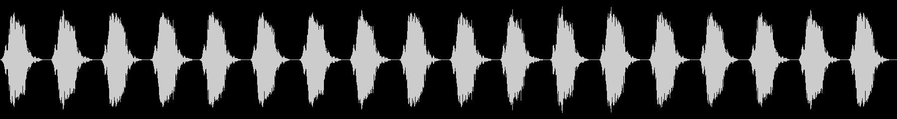 携帯電話 バイブレーション02-12(机の未再生の波形