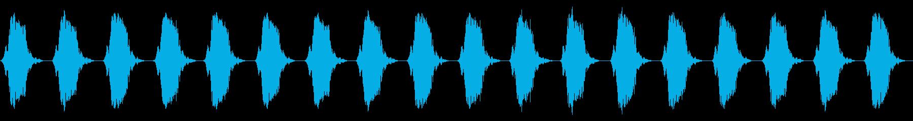携帯電話 バイブレーション02-12(机の再生済みの波形