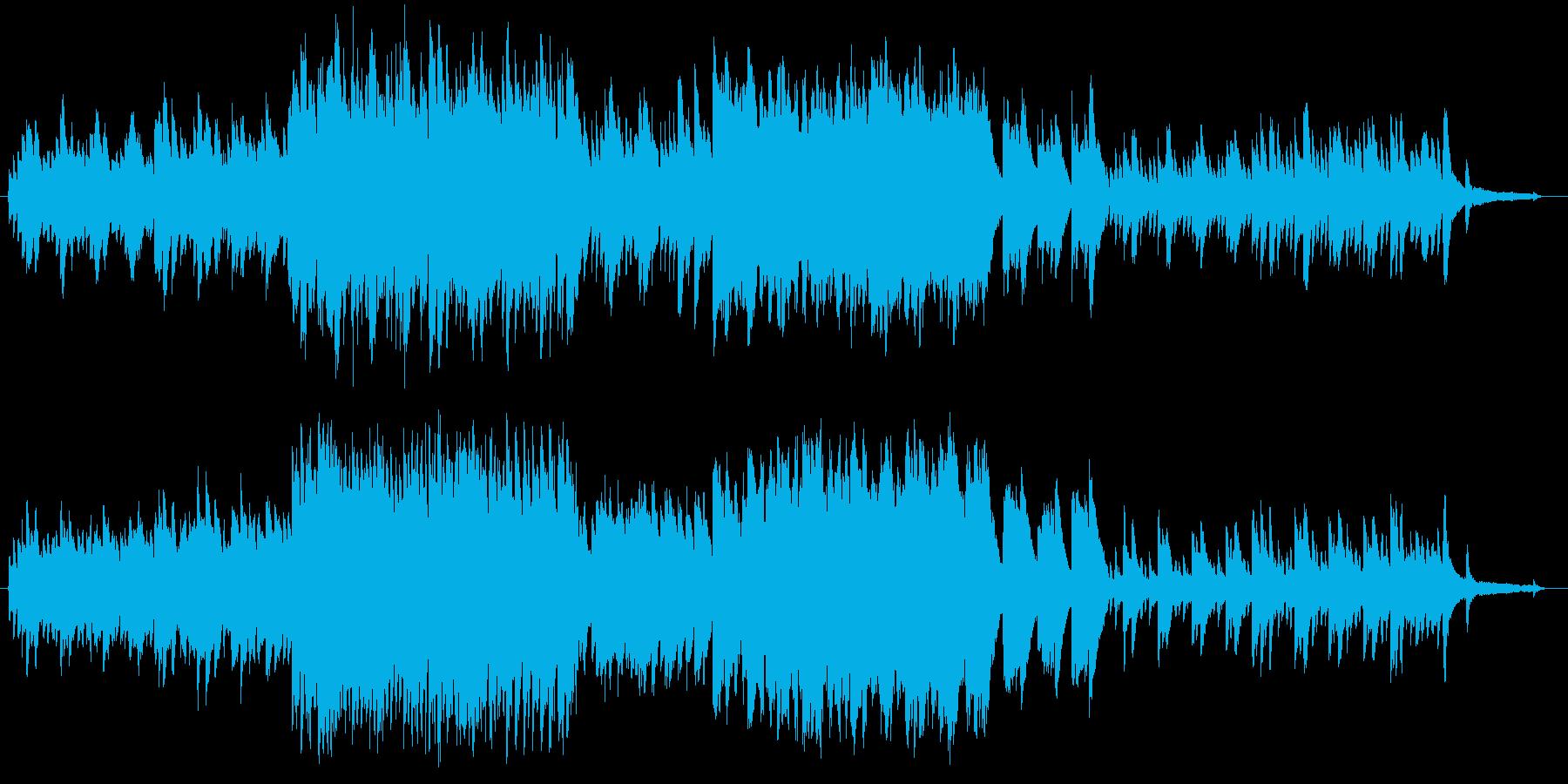 ちょっぴり切ないピアノとストリングスを…の再生済みの波形