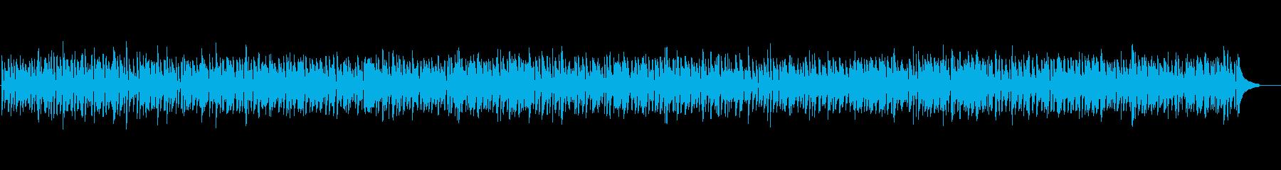 爽やかナイロンギタージャズボサノバ疾走感の再生済みの波形
