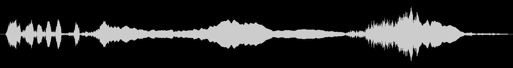 ショートピッチドチャッタースキール...の未再生の波形
