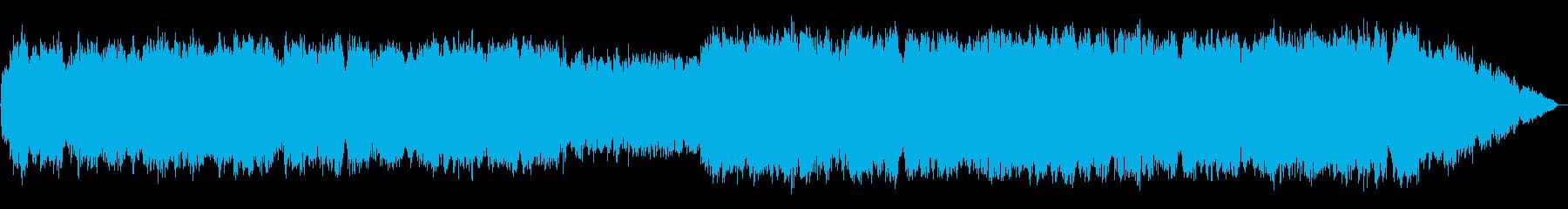 透明感のある優しい笛のメロディーの再生済みの波形