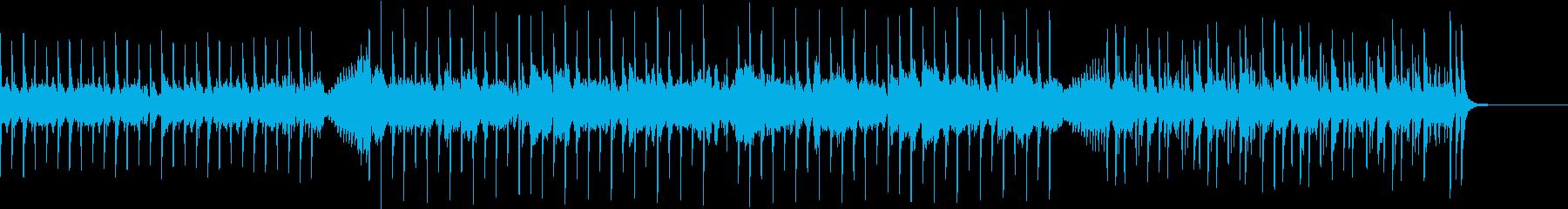スリリングでかっこいいピアノロックの再生済みの波形