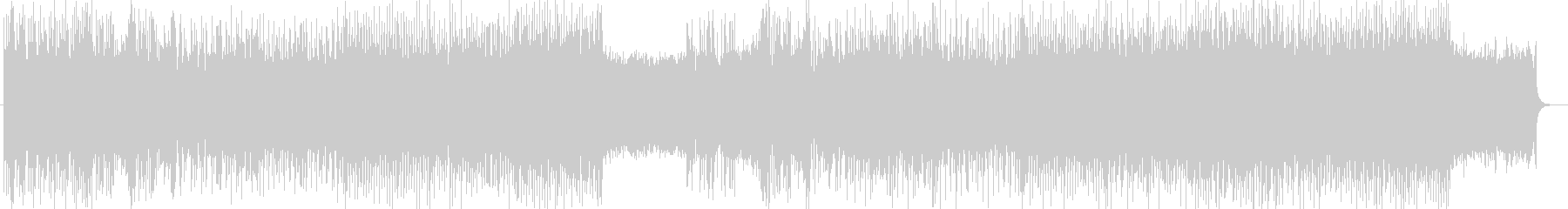 「HR/HM」「DARK」BGM266の未再生の波形