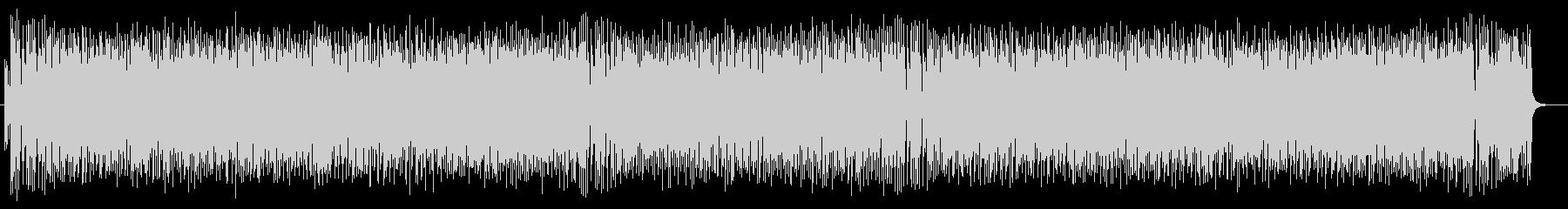コミカルかわいいシンセピアノサウンドの未再生の波形