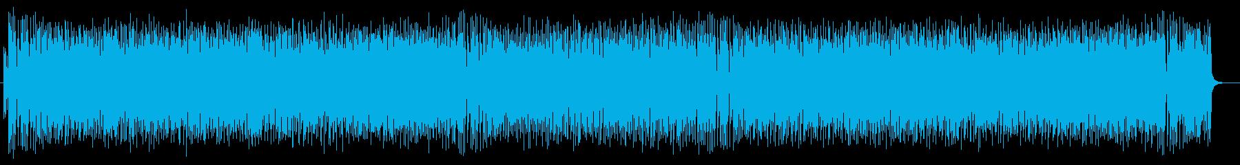 コミカルかわいいシンセピアノサウンドの再生済みの波形