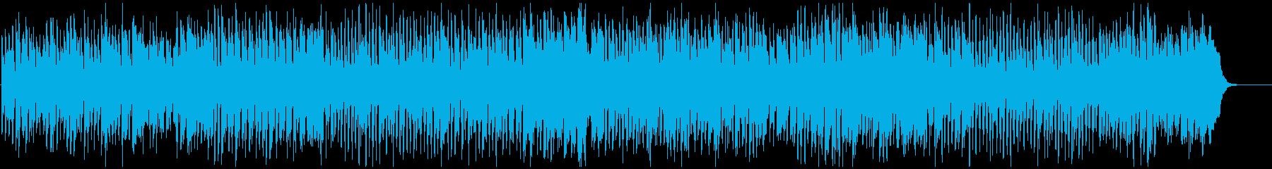 リコーダー生演奏のお笑いギャグコメディ曲の再生済みの波形