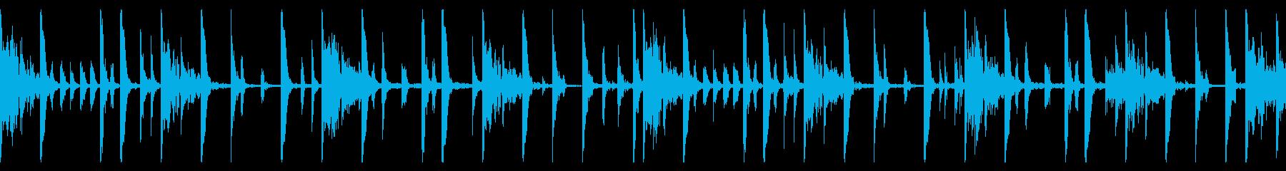 115 BPMの再生済みの波形