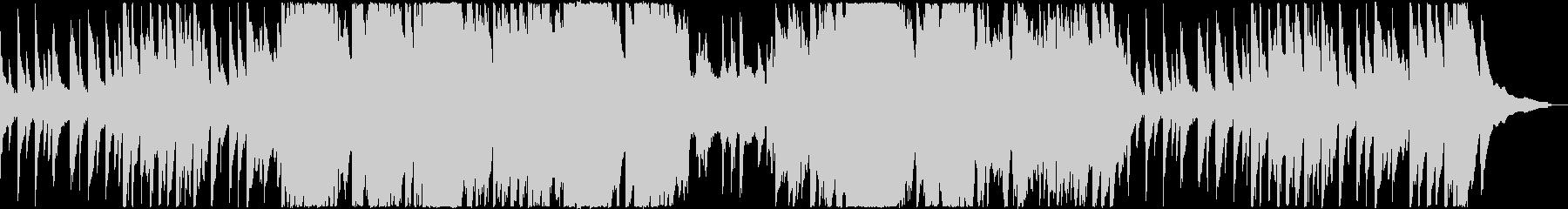 ピアノの旋律が切ないレクイエムの未再生の波形