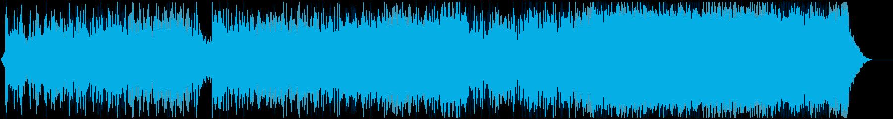勇ましい和風オーケストラ2の再生済みの波形